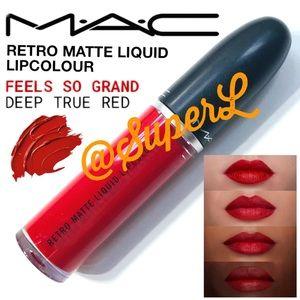 2/$25 MAC MATTE LIQUID LIPSTICK FEELS SO GRAND